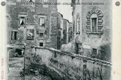 Terni - Via A. De Filis e Torre dei Castelli
