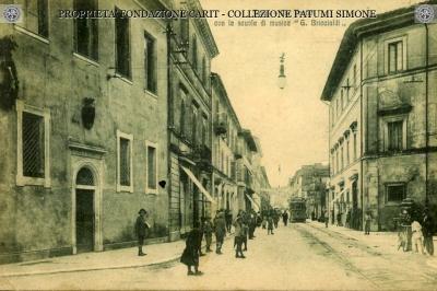 """Terni - Via Tacito - Scuola di musica """"G. Briccialdi"""""""