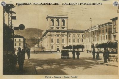 Terni Piazza Corso Tacito