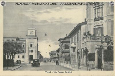 Terni - Via Cesare Battisti