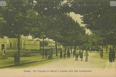 Terni - Vie Principe di Napoli e Cassian Bon
