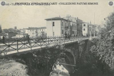 Terni - Viale Brin - Ponte sul Torrente Serra