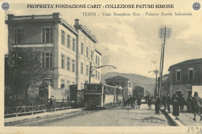 Terni - Viale Benedetto Brin - Palazzo Scuola Industriale