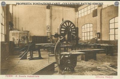 Terni - R. Scuola Industriale - Officina Modelli