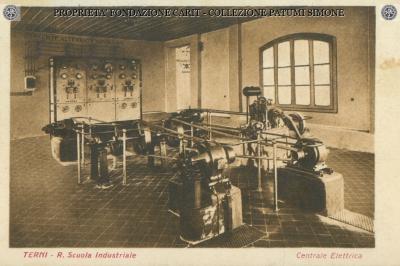 Terni - R. Scuola Industriale - Centrale Elettrica