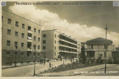 Terni - Via Giulio Giordano