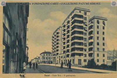 Terni - Viale Brin - Il grattacielo