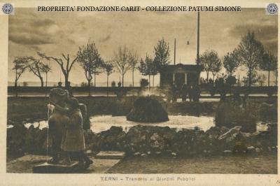 Terni - Tramonto ai Giardini pubblici