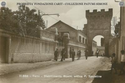 Terni - Stabilimento Bosco Antica Porta Spoletina