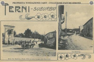 Terni - Via Spoletina Ponte d' Oro