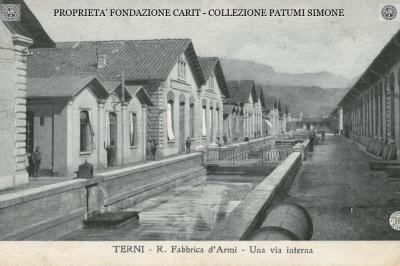 Terni - R. Fabbrica d'Armi