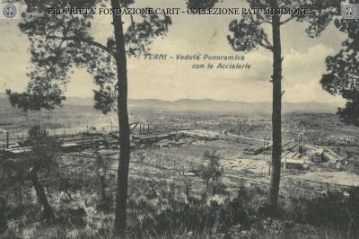 Terni - Veduta Panoramica con le Acciaierie