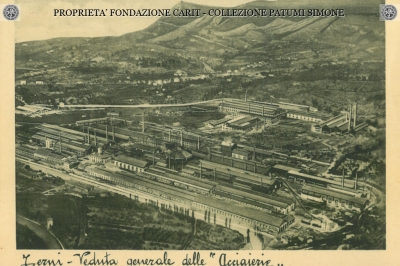 "Terni - Veduta generale delle ""Acciaiereie"""