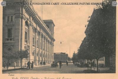 Terni - Viale XXVIII Ottobre e Palazzo del Governo