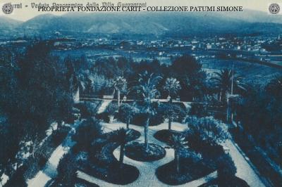 Terni - Veduta panoramica dalla villa Guazzaroni