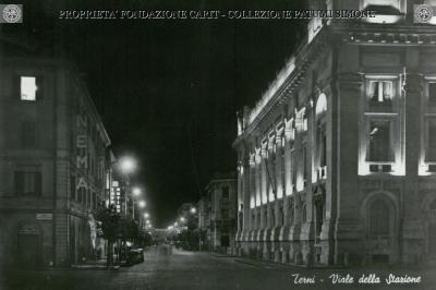 Terni - Viale della Stazione (Notturno)