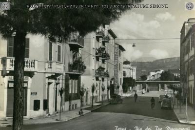 Terni - Via dei Tre Monumenti