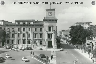 Terni - Viale C. Battisti e Sede della Camera di Commercio, Industria ed Agricoltura
