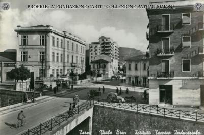 Terni - Viale Brin Istituto Tecnico Industriale