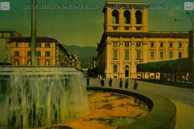 Terni - Piazza Tacito - Particolare della Fontana