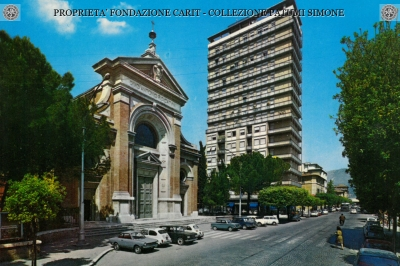 Terni - Via C. Dentato e Chiesa di S. Antonio