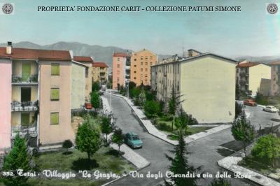 """Terni - Villaggio """"Le Grazie"""" - Via delle Rose e Via degli Oleandri"""