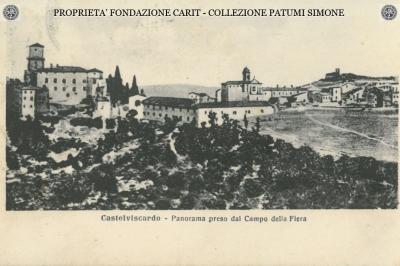 Castelviscardo - Panorama preso dal Campo della Fiera