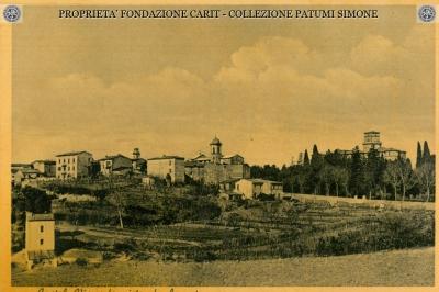 Castel Viscardo visto da Levante