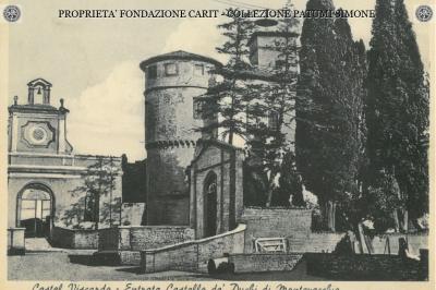 Castel Viscardo - Entrata Castello de' Duchi di Montevecchio