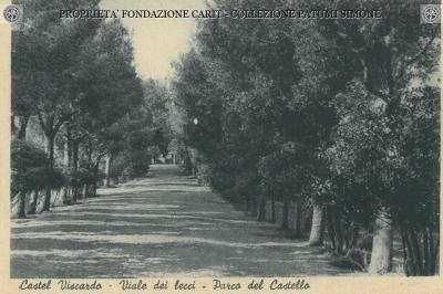 Castel Viscardo - Viale dei Lecci Parco del Castello