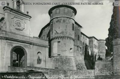 Castel Viscardo - Ingresso al Castello Duca di Montevecchio