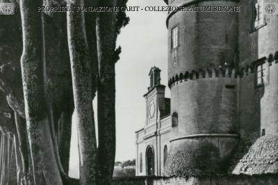 Castel Viscardo - Veduta Parziale del Castello dal Parco
