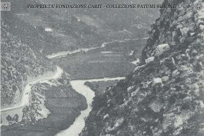 Ferentillo - Veduta panoramica del fiume Nera