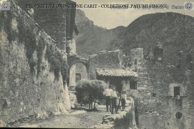 Ferentillo - Via della Rocca di Matterella