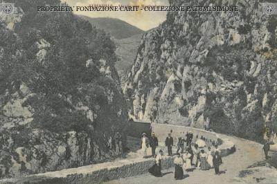 Ferentillo - Strada per Monterivoso