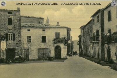 Monterubiaglio - Piazza della Repubblica e Corso