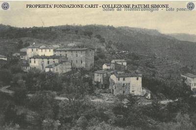 """""""Saluti da Monterubiaglio"""" - Lato ponente"""