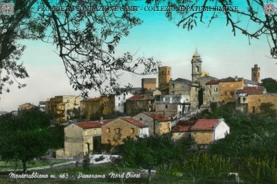 Monterubiaglio - Panorama nord-ovest