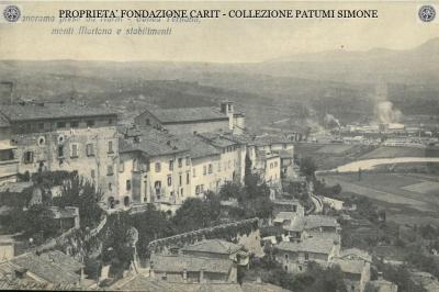 Panorama preso da Narni - Conca Ternana, Monti Martana e stabilimenti