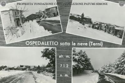 Orvieto - Ospedaletto sotto la neve