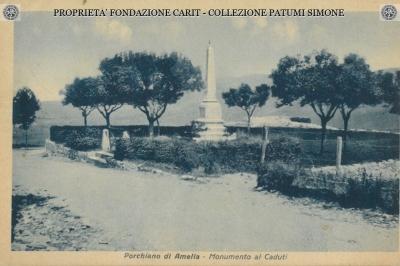 Porchiano di Amelia - Monumento ai Caduti