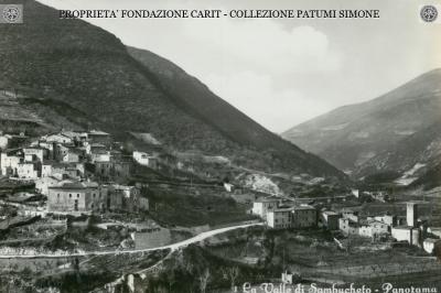 La Valle di Sambucheto - Panorama