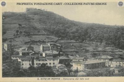 S. Vito in Monte - Panorama del Lato Sud