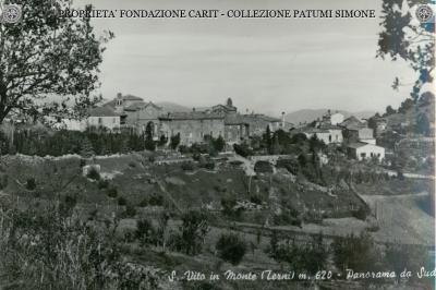 S. Vito in Monte - Panorama da Sud