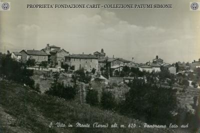 S. Vito in Monte - Panorama lato sud