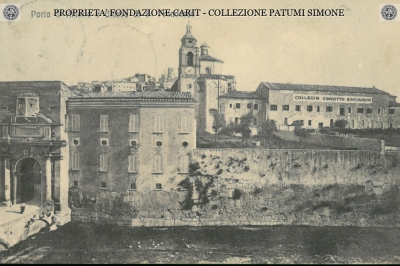 Porta di Amelia e Chiesa di S. Francesco